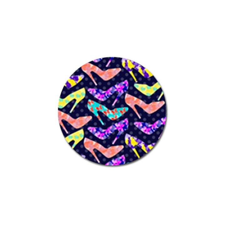 Colorful High Heels Pattern Golf Ball Marker (10 pack)