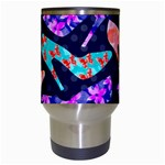 Colorful High Heels Pattern Travel Mugs (White) Center