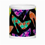 Colorful High Heels Pattern Night Luminous Mugs Center