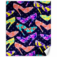Colorful High Heels Pattern Canvas 16  x 20