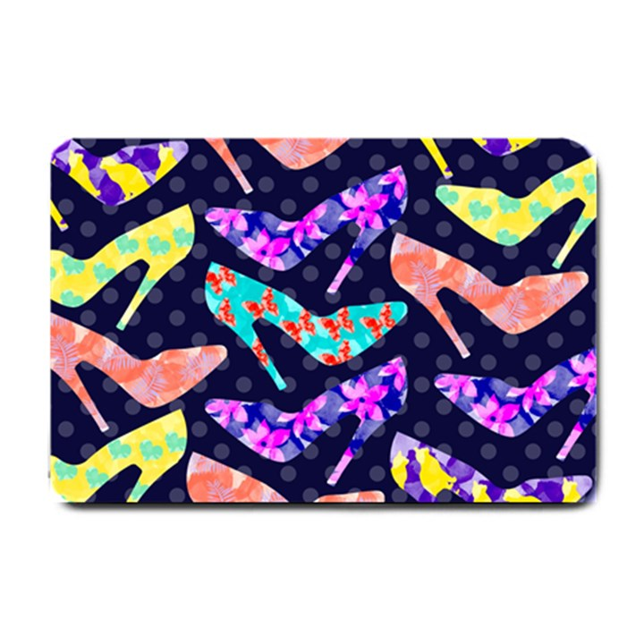 Colorful High Heels Pattern Small Doormat
