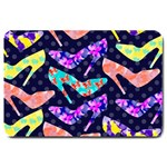 Colorful High Heels Pattern Large Doormat  30 x20 Door Mat - 1