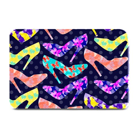 Colorful High Heels Pattern Plate Mats
