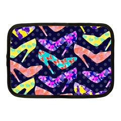 Colorful High Heels Pattern Netbook Case (medium)