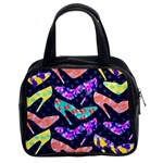 Colorful High Heels Pattern Classic Handbags (2 Sides) Front