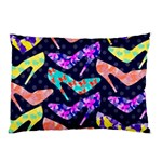 Colorful High Heels Pattern Pillow Case 26.62 x18.9 Pillow Case