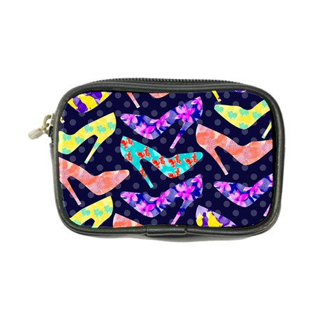 Colorful High Heels Pattern Coin Purse