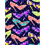 Colorful High Heels Pattern Large Memo Pads 4.125 x5.5  Memopad