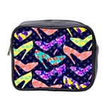 Colorful High Heels Pattern Mini Toiletries Bag 2-Side Front