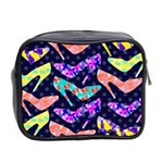 Colorful High Heels Pattern Mini Toiletries Bag 2-Side Back