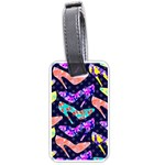 Colorful High Heels Pattern Luggage Tags (Two Sides) Back