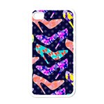 Colorful High Heels Pattern Apple iPhone 4 Case (White) Front