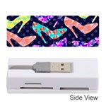 Colorful High Heels Pattern Memory Card Reader (Stick)  Front