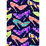Colorful High Heels Pattern You Did It 3D Greeting Card (7x5) Inside