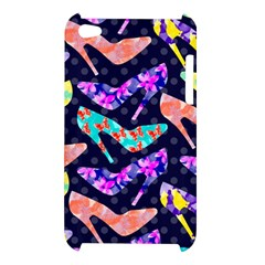 Colorful High Heels Pattern Apple iPod Touch 4