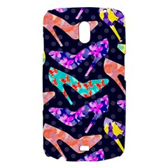 Colorful High Heels Pattern Samsung Galaxy Nexus i9250 Hardshell Case