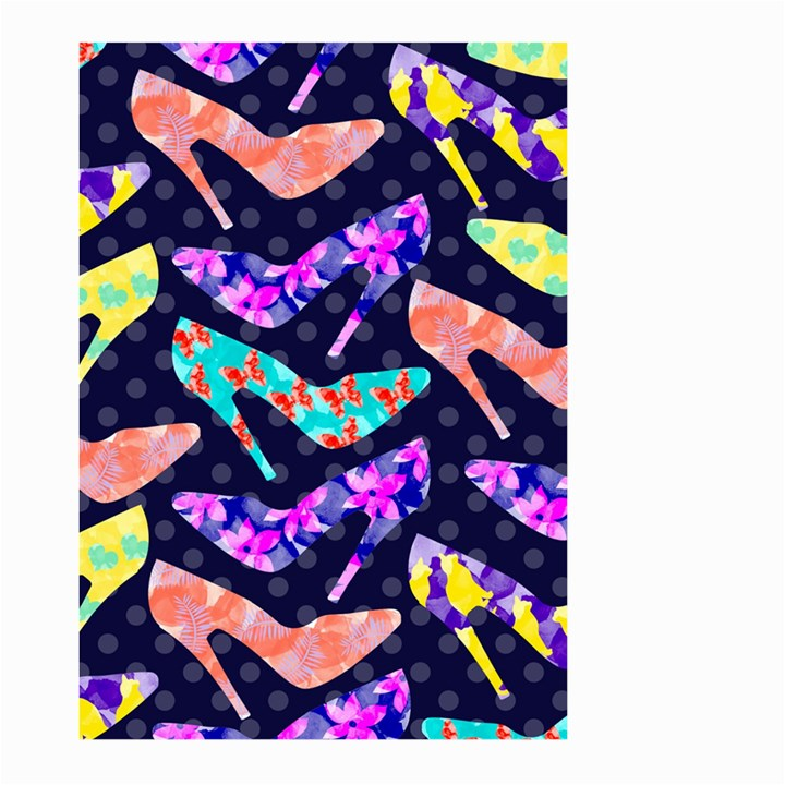 Colorful High Heels Pattern Large Garden Flag (Two Sides)