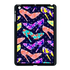 Colorful High Heels Pattern Apple Ipad Mini Case (black)