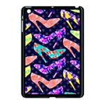 Colorful High Heels Pattern Apple iPad Mini Case (Black) Front
