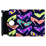Colorful High Heels Pattern Apple iPad 3/4 Flip 360 Case Front