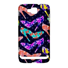 Colorful High Heels Pattern Samsung Ativ S i8750 Hardshell Case