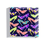 Colorful High Heels Pattern 4 x 4  Acrylic Photo Blocks Front