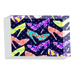 Colorful High Heels Pattern 4 x 6  Acrylic Photo Blocks Front
