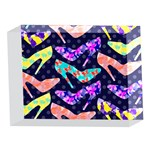 Colorful High Heels Pattern 5 x 7  Acrylic Photo Blocks Front