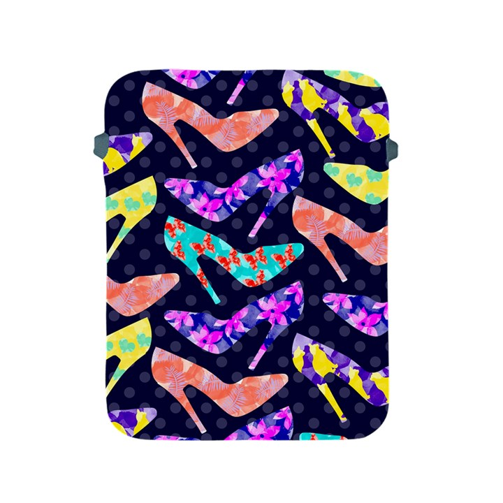 Colorful High Heels Pattern Apple iPad 2/3/4 Protective Soft Cases