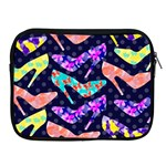 Colorful High Heels Pattern Apple iPad 2/3/4 Zipper Cases Front