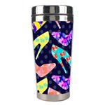 Colorful High Heels Pattern Stainless Steel Travel Tumblers Left