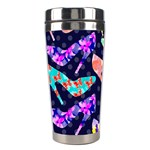 Colorful High Heels Pattern Stainless Steel Travel Tumblers Center