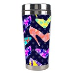 Colorful High Heels Pattern Stainless Steel Travel Tumblers Right