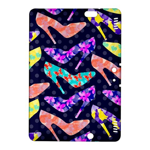 Colorful High Heels Pattern Kindle Fire HDX 8.9  Hardshell Case