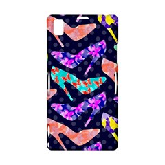 Colorful High Heels Pattern Sony Xperia Z1
