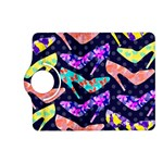 Colorful High Heels Pattern Kindle Fire HD (2013) Flip 360 Case Front