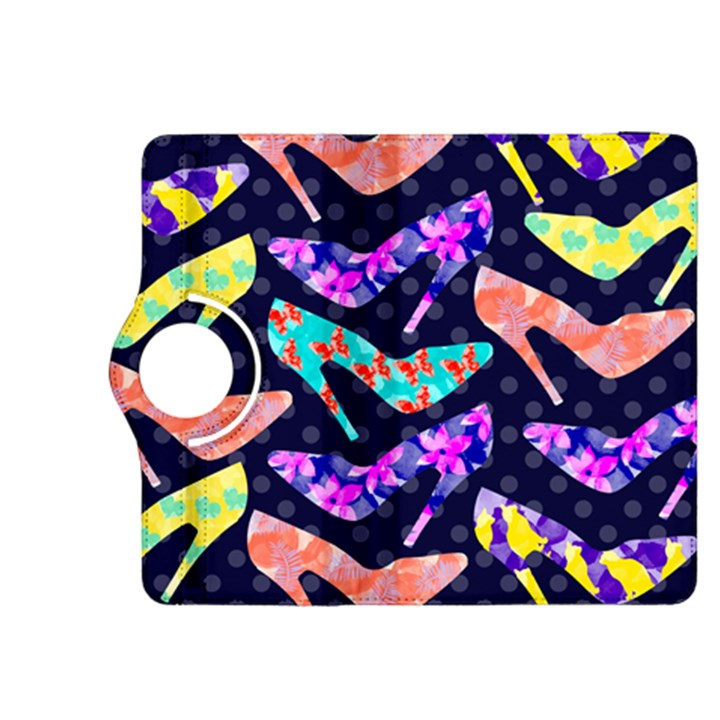 Colorful High Heels Pattern Kindle Fire HDX 8.9  Flip 360 Case