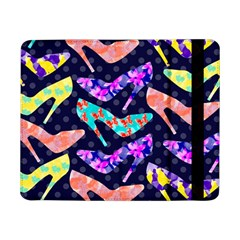 Colorful High Heels Pattern Samsung Galaxy Tab Pro 8 4  Flip Case
