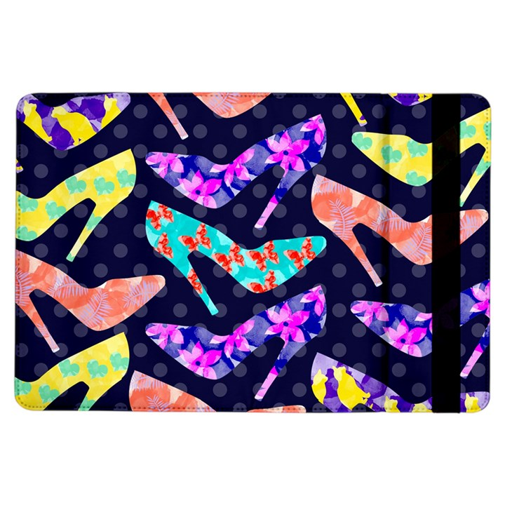 Colorful High Heels Pattern iPad Air Flip