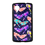Colorful High Heels Pattern Nexus 5 Case (Black) Front
