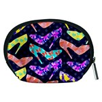 Colorful High Heels Pattern Accessory Pouches (Medium)  Back