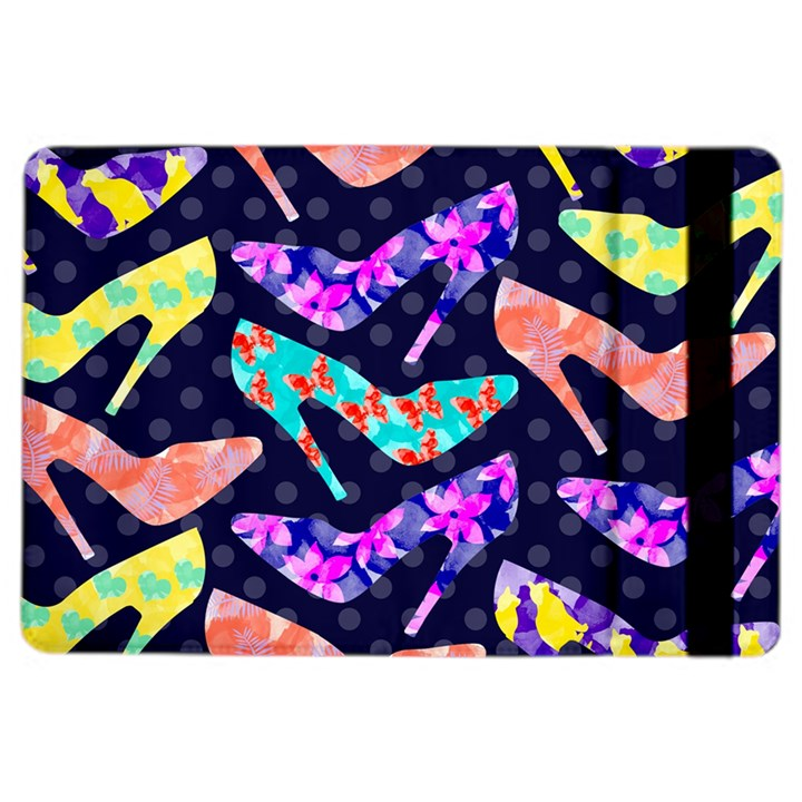 Colorful High Heels Pattern iPad Air 2 Flip