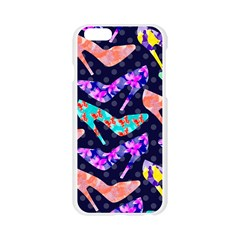 Colorful High Heels Pattern Apple Seamless iPhone 6/6S Case (Transparent)