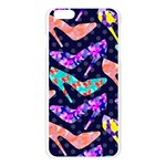 Colorful High Heels Pattern Apple Seamless iPhone 6 Plus/6S Plus Case (Transparent) Front