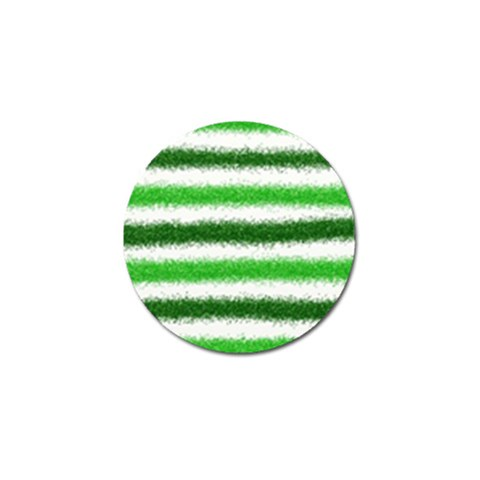 Metallic Green Glitter Stripes Golf Ball Marker (4 pack)