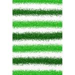Metallic Green Glitter Stripes 5.5  x 8.5  Notebooks Front Cover Inside