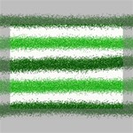 Metallic Green Glitter Stripes Deluxe Canvas 16  x 12   16  x 12  x 1.5  Stretched Canvas