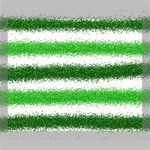 Metallic Green Glitter Stripes Deluxe Canvas 24  x 20   24  x 20  x 1.5  Stretched Canvas