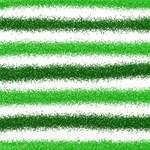 Metallic Green Glitter Stripes Twin Hearts 3D Greeting Card (8x4) Inside
