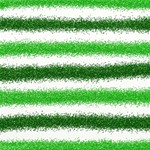Metallic Green Glitter Stripes Best Wish 3D Greeting Card (8x4) Inside